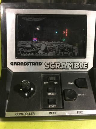 Tipo game watch table top Scramble de Grandstand