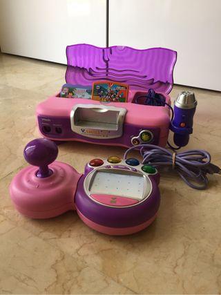Videoconsola (para niños de 3 a 8 años)