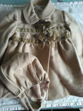 abrigo dolce 12 meses nuevo