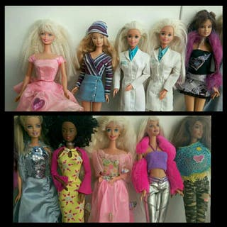 Muñeca Barbie negra de segunda mano en WALLAPOP 903b3dab0b120