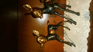ciervos bronce