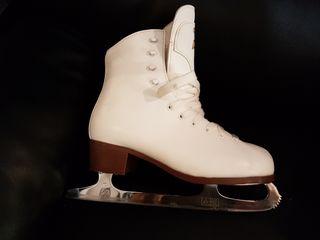 GrafDAVOS GOLD patin de hielotalla 39