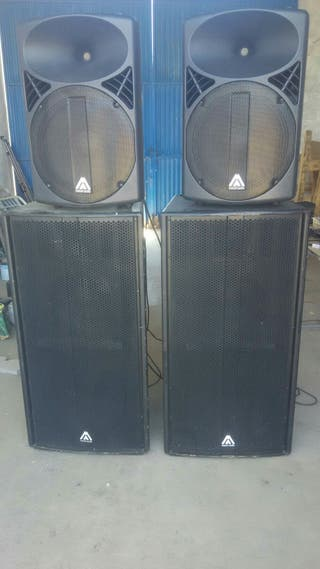 alquiler sonido 4000w rms