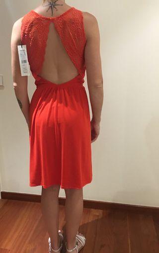 Vestido nuevo morgan rojo
