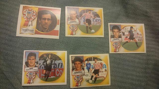 cromos Athletic Bilbao liga 94/95