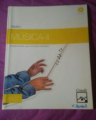Libro Música-II ESO.