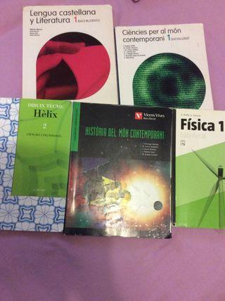 Libros de estudio bachillerato