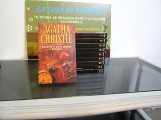 Novelas Agatha Christie.
