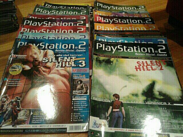 lote revistas playstation 2