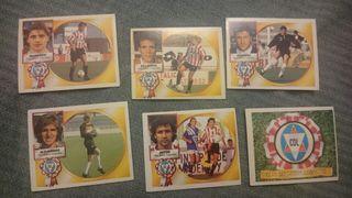 Cromos fútbol Logroñés liga 94/95