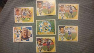 Cromos Deportivo Coruña liga 94/95