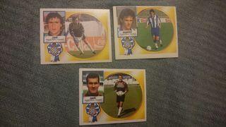 Cromos fútbol Espanyol liga 94/95