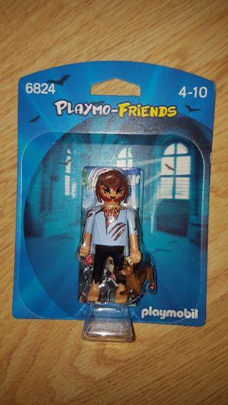 playmobil hombre lobo Ref 6824 nuevo figura