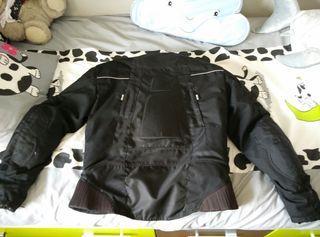chaqueta de cordura moto