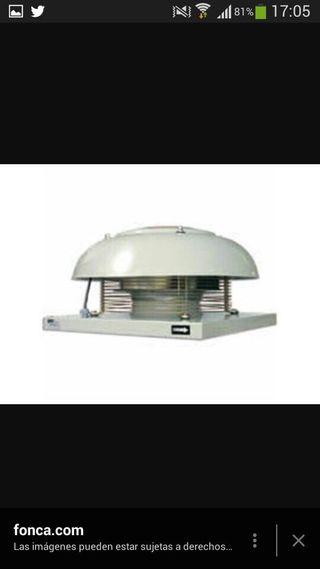 Extractor para tejado