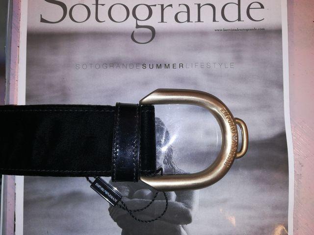 Cinturón Emporio Armani