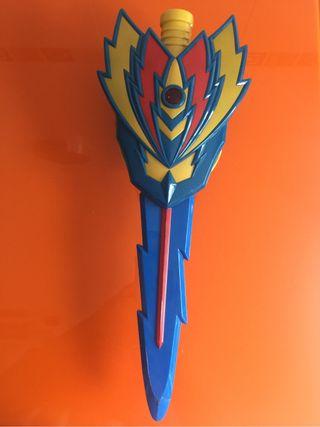 Espada con escudo