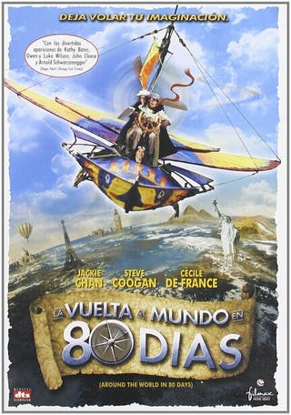 La vuelta al mundo en 80 días DVD nuevo precintado