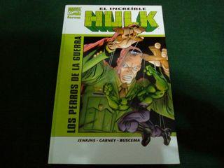 Comic El increible Hulk Los Perros de la Guerra