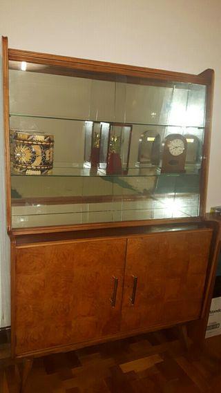 Mueble vitrina mid century de segunda mano por 160 en pamplona en wallapop - Segunda mano pamplona muebles ...