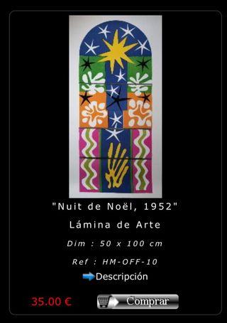 Laminas de arte Matisse