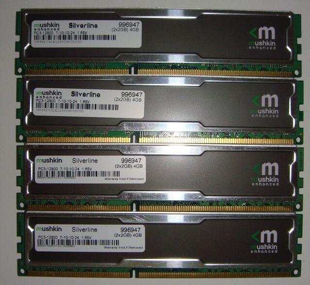 MEMORIA RAM MUSHKIN 8 GB DDR3