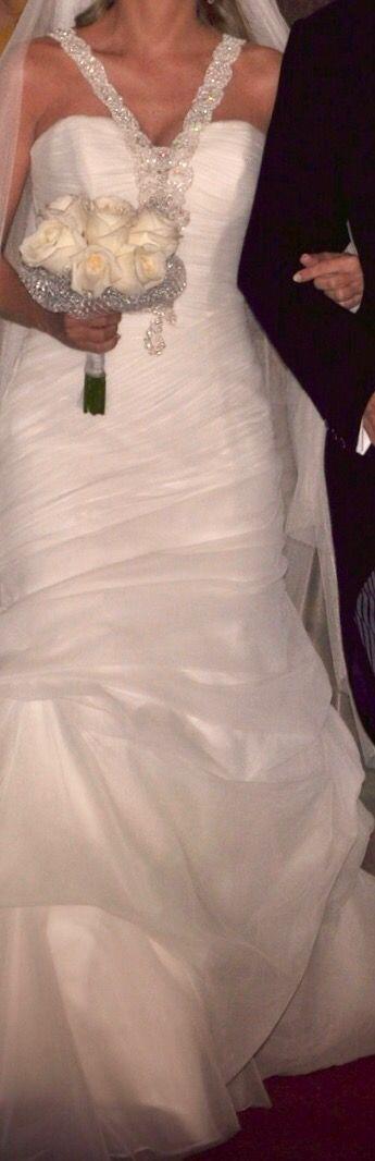 vestido de novia manuel mota. pronovias. de segunda mano por 290