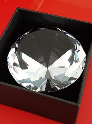 """Cristal talla """"brillante"""""""