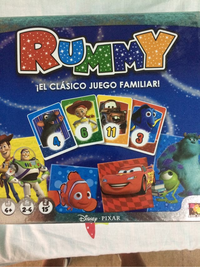 Juego De Mesa Rummy Disney De Segunda Mano Por 10 En Arganda Del