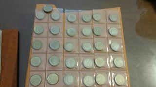 31 monedas de 100 pesetas Juan Carlos I