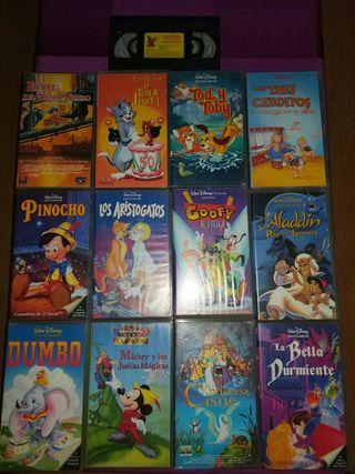 13 peliculas VHS