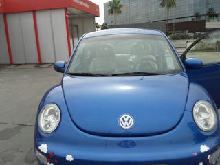 Volkswagen Beetle 2001.Cambio automat. tapic. cuer