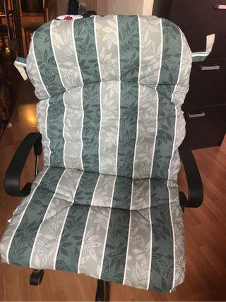 Cojines para sillas de terrasa