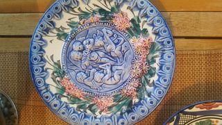 platos artesanal decoración