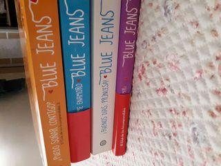 trilogía blue jeans+el diario de Mery
