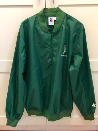 Chubasquero original NBA Boston Celtics 80's