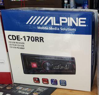 ALPINE CDE-170RR