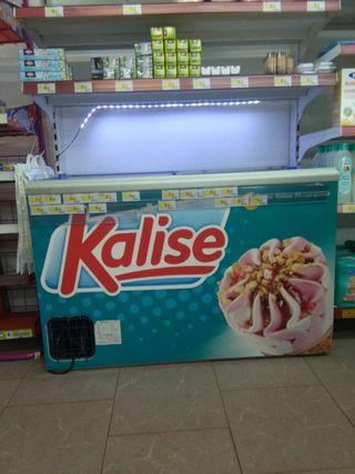 isla congelador para helados