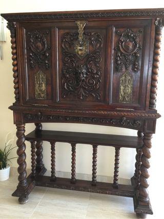 Mueble antiguo de segunda mano por 900 en nova vallverda wallapop - Wallapop muebles antiguos ...