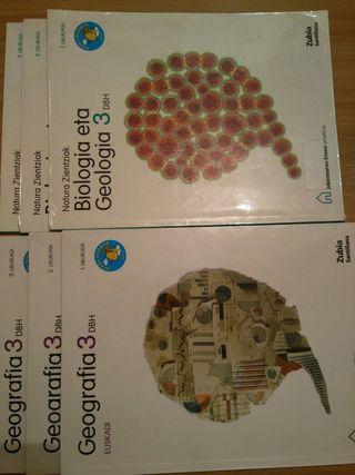 Libros de 3° de la ESO