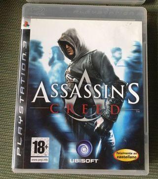 Juegos PlayStation 3 assassins creed