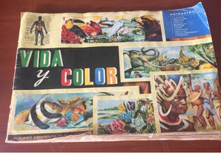 Album Cromos Vida y Color 1965