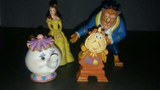 Disney bullyland bella bestia ding dong sr potts