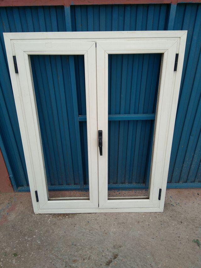 Ventanas aluminio color crema de segunda mano por 60 en for Ventanas aluminio color titanio
