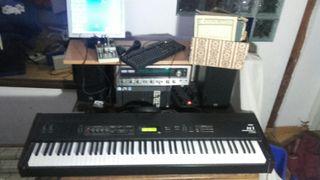 teclado sintetizador korg N1
