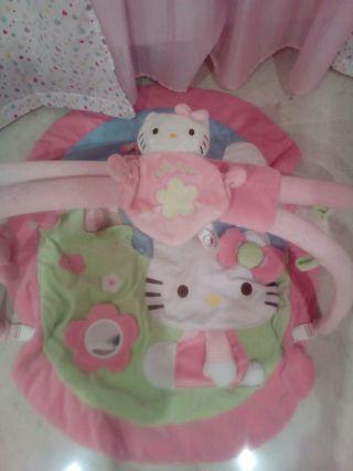 manta de juegos hello kitty