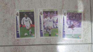 Cromo Fichas de la liga 94-95€ Real Madrid