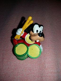 figura pvc goma Goofy bebé tambor Bully