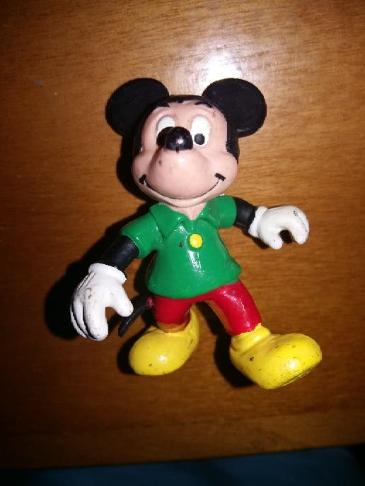 figura pvc goma Mickey Mouse Disney