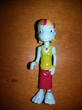 figura pvc goma los lunnis Yolanda RTVE 2004